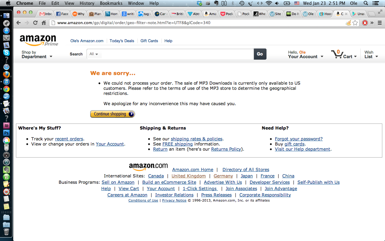 Africa Still The Dark Continent When It Comes To Music Purchases Op Amp Amazonde Screen Shot 2013 01 23 At 25158 Pm